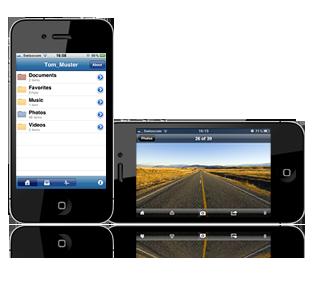 Wuala iPhone App